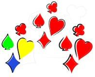 играть карточек бесплатная иллюстрация