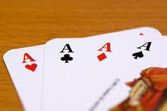 играть карточки стоковые фотографии rf