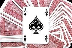 играть карточки стоковое фото