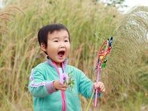 играть китайца детей Стоковая Фотография