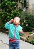 играть китайца детей Стоковые Фото