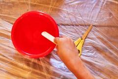 играть малыша глины стоковое изображение rf