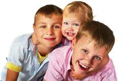 играть малышей Стоковые Фото