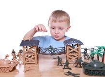 играть мальчика Стоковое Фото