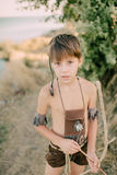 играть мальчика Стоковые Фотографии RF