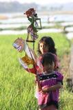 Играть марионетку Стоковая Фотография RF