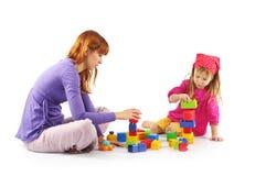 играть мати дочи Стоковое Изображение