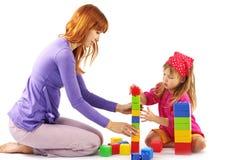 играть мати дочи Стоковые Фото
