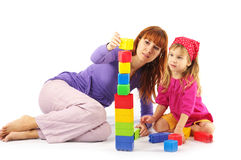 играть мати дочи Стоковая Фотография RF