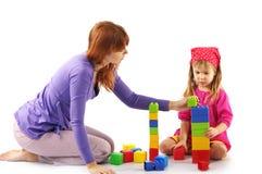 играть мати дочи Стоковые Изображения