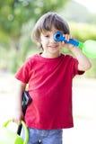 играть мальчика симпатичный Стоковые Изображения RF