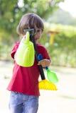 играть мальчика симпатичный Стоковые Фотографии RF