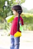 играть мальчика симпатичный Стоковая Фотография