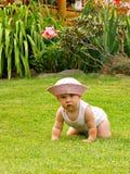 играть младенца напольный стоковое изображение rf