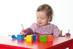 играть младенца Стоковые Изображения