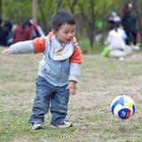 играть младенца Стоковая Фотография RF