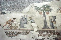 играть мозаики istanbul обруча детей стоковая фотография