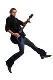 играть музыканта гитары Стоковая Фотография RF