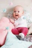 Играть младенца Стоковая Фотография