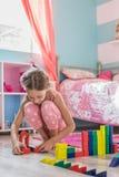 играть дома ребенка Стоковые Фотографии RF