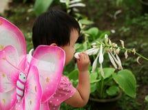 играть парка девушки Стоковая Фотография RF