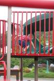 играть парка ребенка Стоковая Фотография