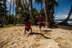 играть песок Стоковое Фото
