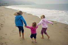 играть пляжа Стоковое Изображение RF