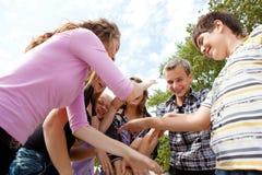 играть подросток Стоковое Изображение RF