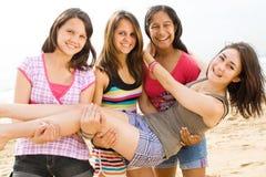 играть предназначенный для подростков стоковые фото
