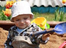 играть ребенка стоковое изображение