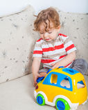 играть ребёнка Стоковое Фото