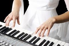 играть рояля Стоковая Фотография RF