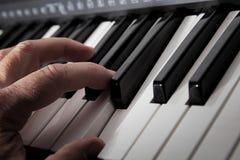 играть рояля Стоковые Изображения RF