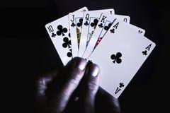 играть рук карточек стоковое фото rf