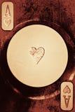 играть сердец карточки туза стоковое фото rf