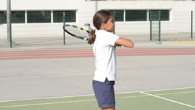 играть теннис сток-видео