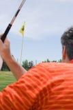 играть человека гольфа Стоковые Изображения RF