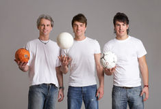 играть шарика Стоковая Фотография RF