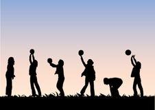 играть шарика Иллюстрация штока