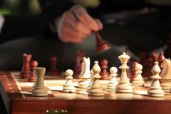 играть шахмат Стоковые Фото