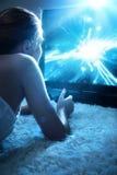 играть детенышей женщины Стоковые Изображения RF