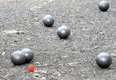 играть boules de jeu Стоковая Фотография