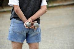 играть boules de jeu Стоковое Фото