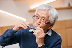 играть harmonica стоковые изображения rf