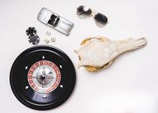 Играя в азартные игры жизнь стоковая фотография rf