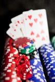 играя в азартные игры инструменты Стоковые Изображения