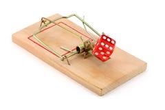 играя в азартные игры ловушка Стоковое Изображение