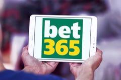 Играя в азартные игры логотип компании Bet365 Стоковые Изображения