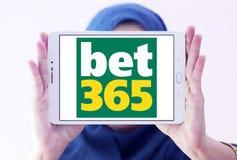 Играя в азартные игры логотип компании Bet365 Стоковое фото RF